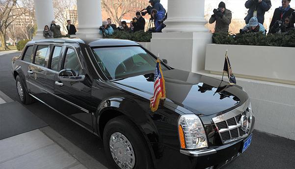 Obama arabasını değiştiriyor