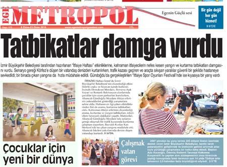 Ege Metropol Gazetesi 172. Sayısı
