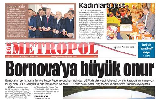 Ege Metropol Gazetesi 174. Sayısı