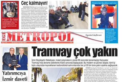 Ege Metropol Gazetesi 175. Sayısı