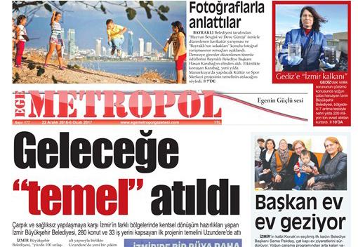 Ege Metropol Gazetesi 177. Sayısı