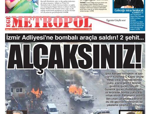 Ege Metropol Gazetesi 178. Sayısı