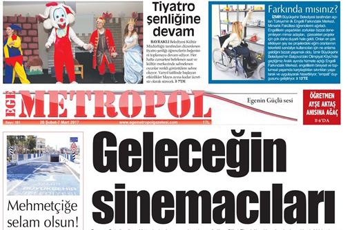 Ege Metropol Gazetesi 181. Sayısı