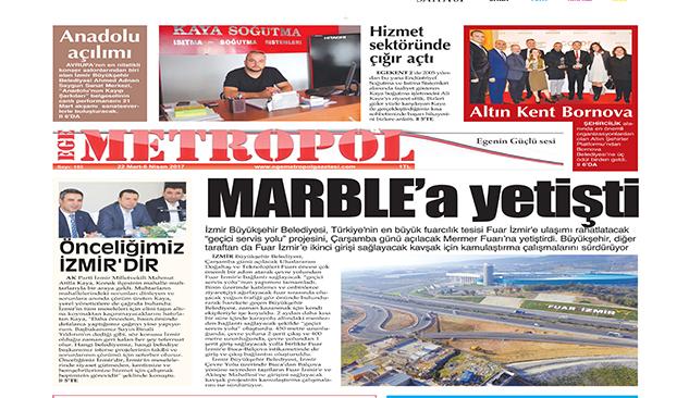 Ege Metropol Gazetesi 183. Sayı