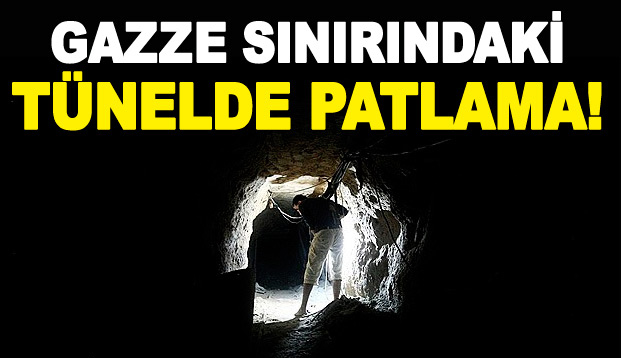 Gazze sınırında tünel imhası! 5 yaralı