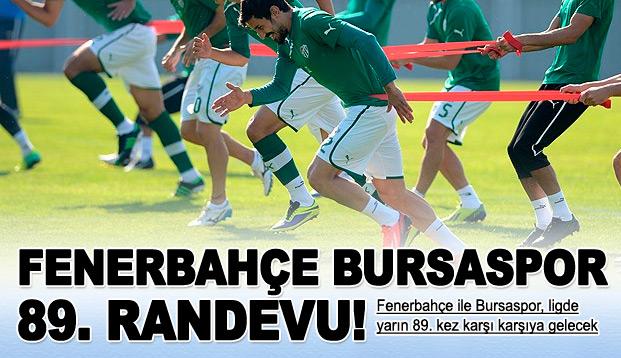 Fenerbahçe ile Bursaspor 89. randevuda