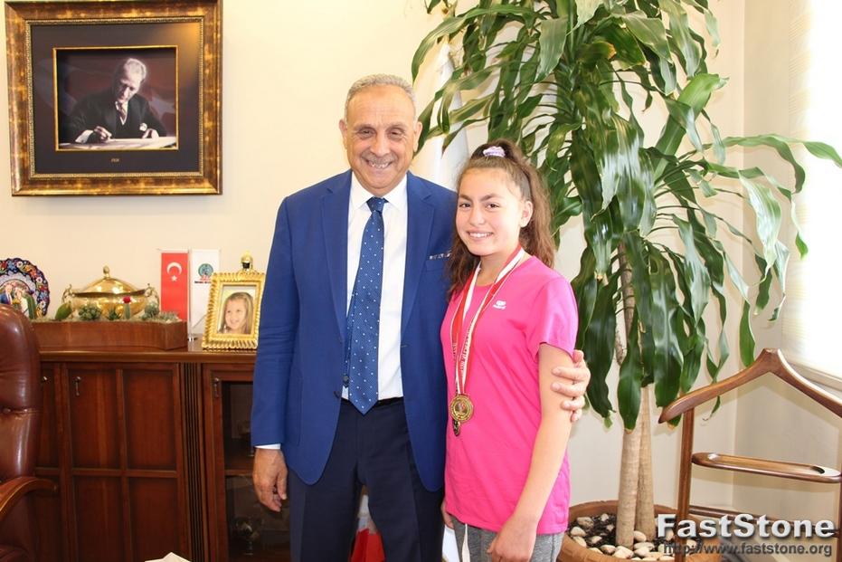 Başkan Badem, Türkiye Şampiyonunu Konuk Etti