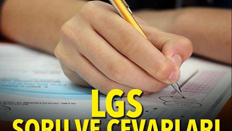 LGS soru ve cevapları ne zaman açıklanacak