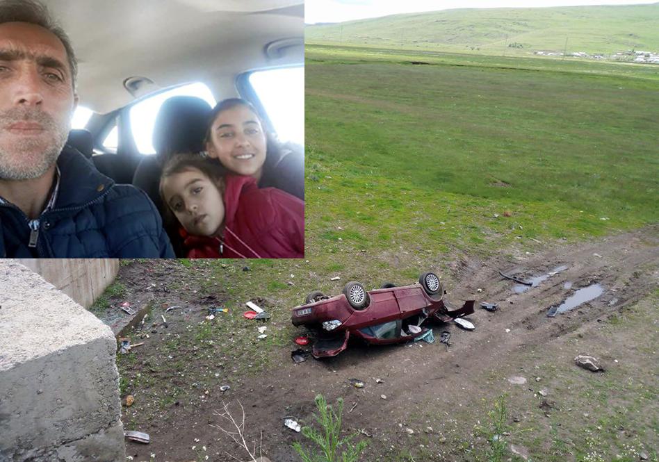 Göle yolunda üzücü kaza, 2 ölü