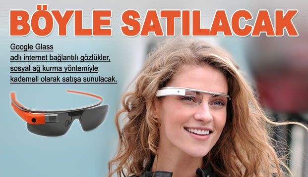 Google Glass böyle satılacak