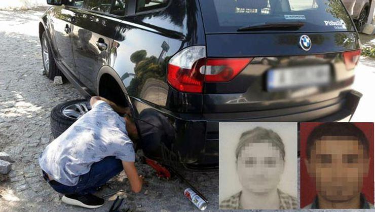 Araçlarına zarar verdikleri gurbetçileri dolandıran çift yakalandı