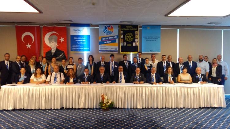 Rotaractörler ilham kaynağı olmaya geliyor!