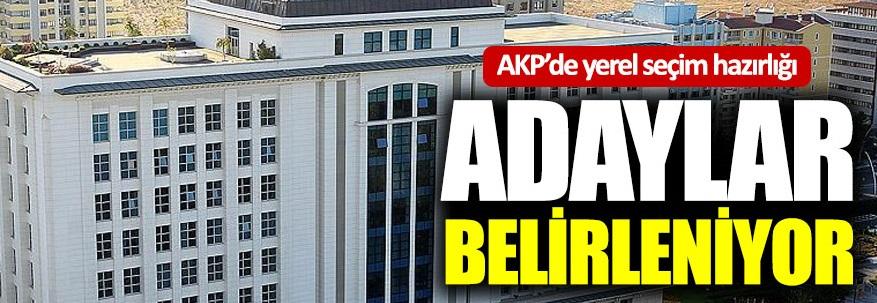 AKP'de yerel seçim hazırlığı