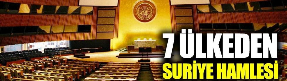 7 ülkeden Suriye hamlesi!