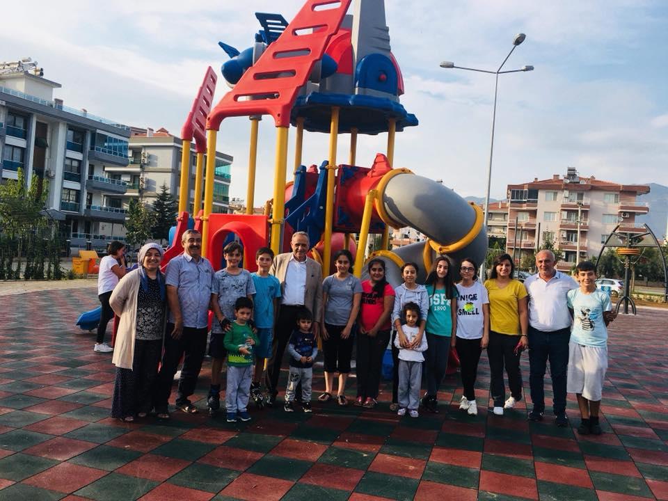 Zafer Mahallesi'nde Yeni Bir Park Alparslan Türkeş Parkı