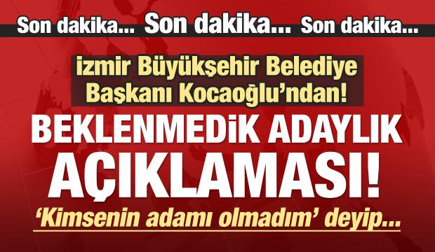 CHP'de büyük şok! Aziz Kocaoğlu aday olmayacak