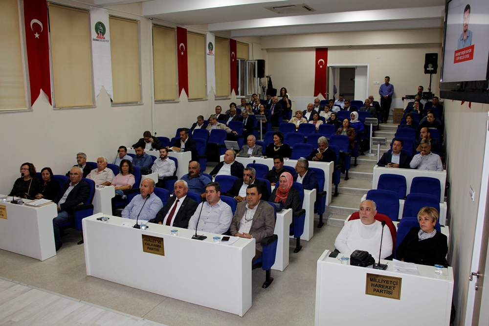 Ödemiş Belediye Meclisi'nin Ekim Ayı Toplantısı Yapıldı