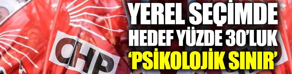 CHP'de hedef: Yüzde 30'u geçmek