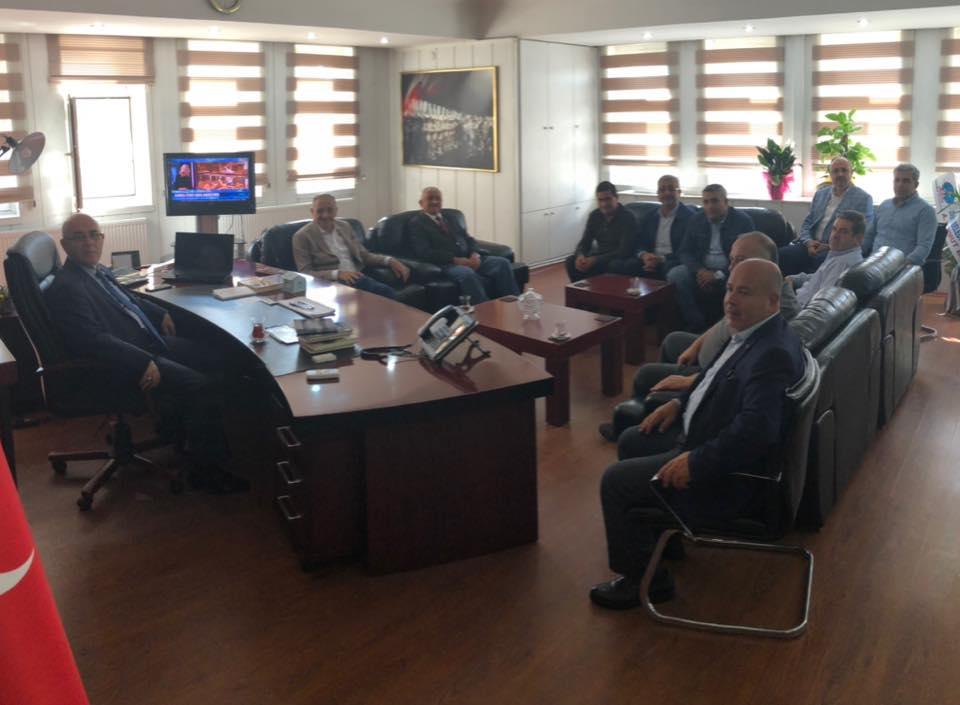 Başkan Badem, Yeni Kaymakam Dayıoğlu'nu Ziyaret Etti