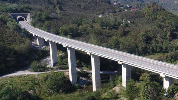 Karadeniz-Akdeniz Otoyol Projesi'nde sona yaklaşıldı
