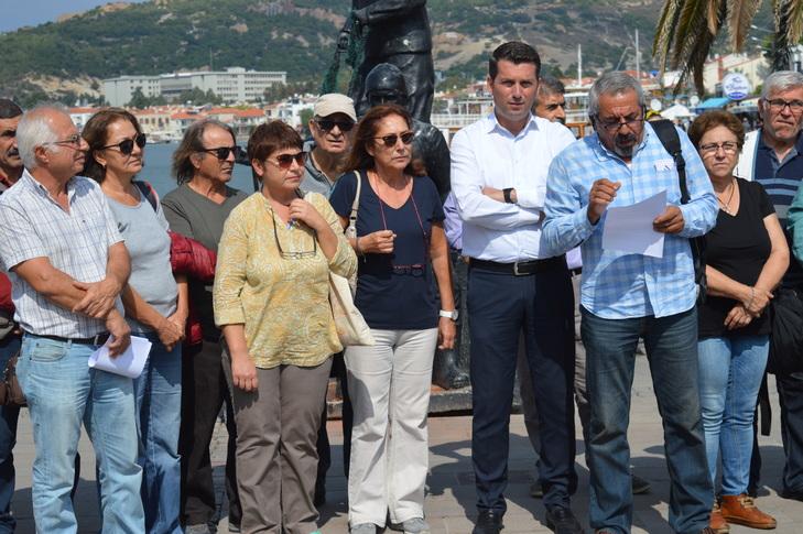 Foça Sokakta Platformundan siyasi partilere demokrasi çağrısı