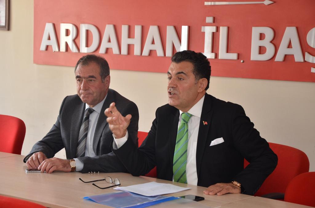 Ardahan Belediye Başkanı olmak için Faruk Demir aday adaylığını açıkladı