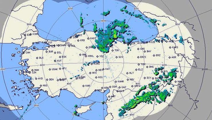 Meteoroloji'den İstanbul'a 11-14 Ekim arası yağmur uyarısı
