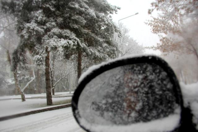 Bölgede en düşük hava sıcaklığı sıfırın altında 6 derece ile Ardahan'da ölçüldü.