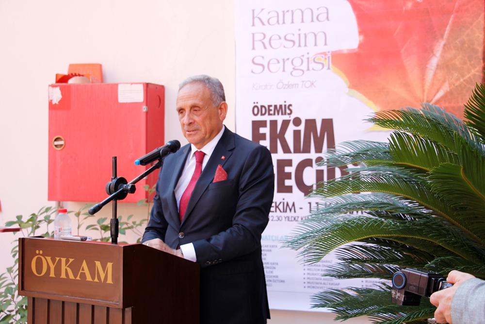 Ödemiş'te Ekim Geçidi Karma Resim Sergisi Açıldı