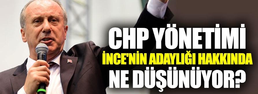 CHP'den Muharrem İnce yorumu