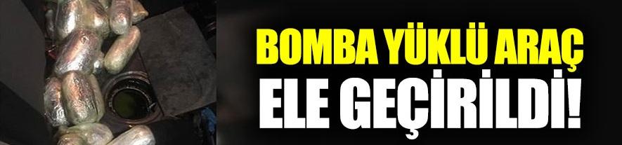 Malatya'da bir araçta bomba malzemeleri ele geçildi