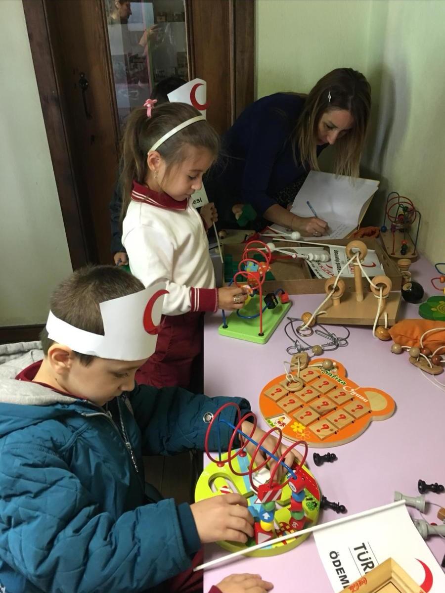 Çocuk Oyuncakları Sergisi Büyük İlgi Görüyor