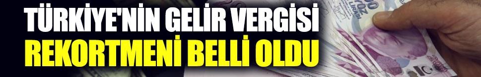 Türkiye'nin gelir vergisi rekortmeni Şarık Tara oldu