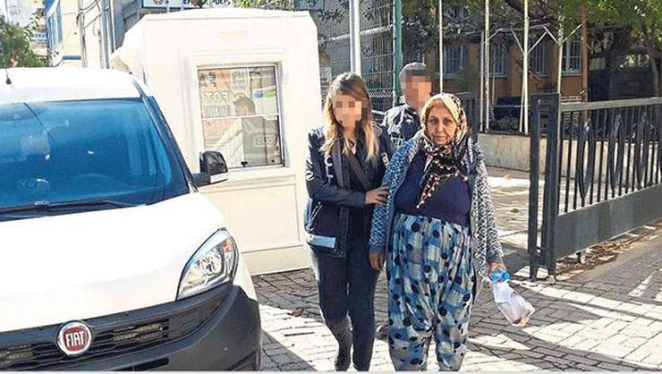 Aydın'da 'Barone' lakaplı uyuşturucu satıcısı kadın ve torunu yakalandı