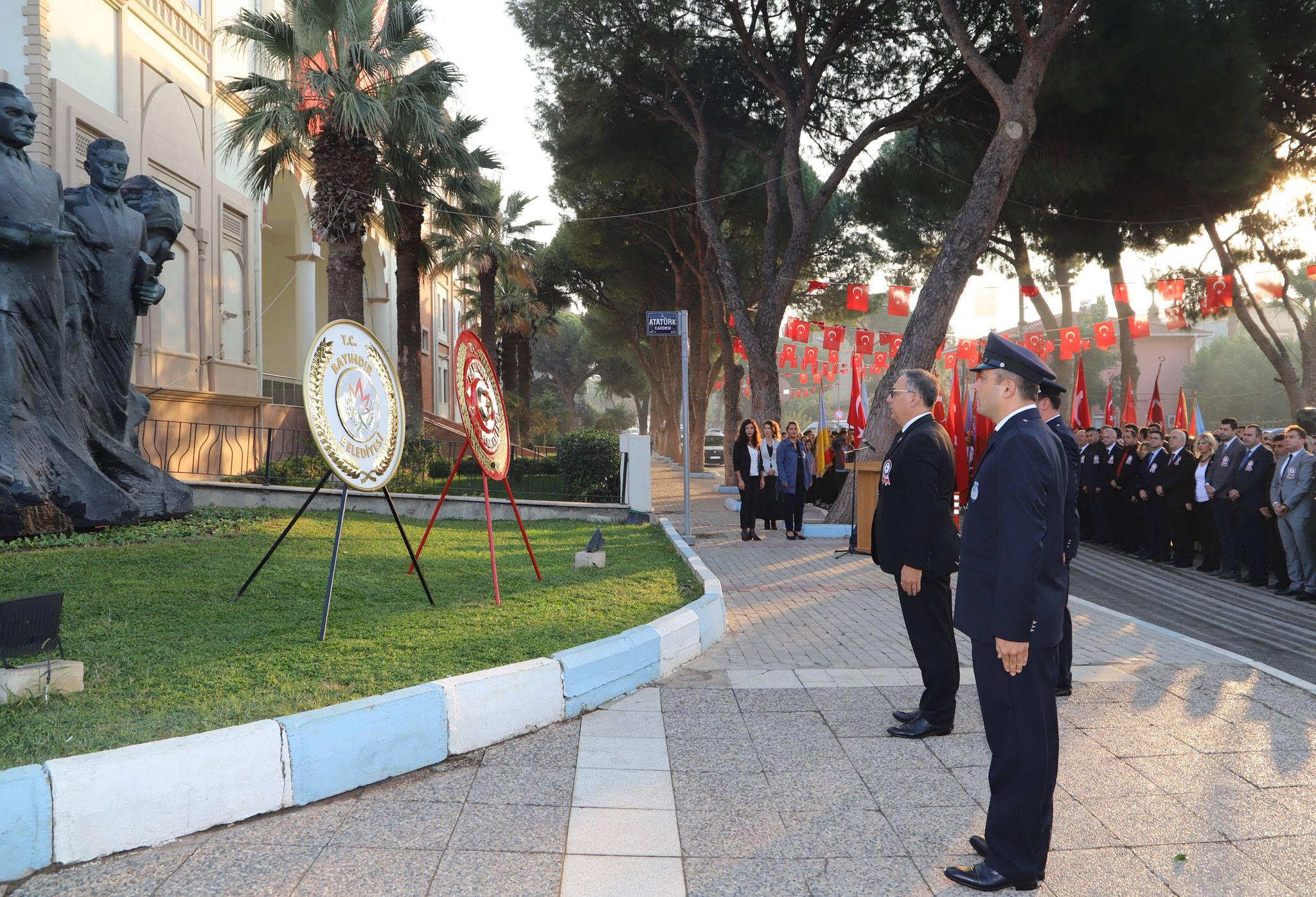 Atatürk Bayındır'da Özlemle Anıldı