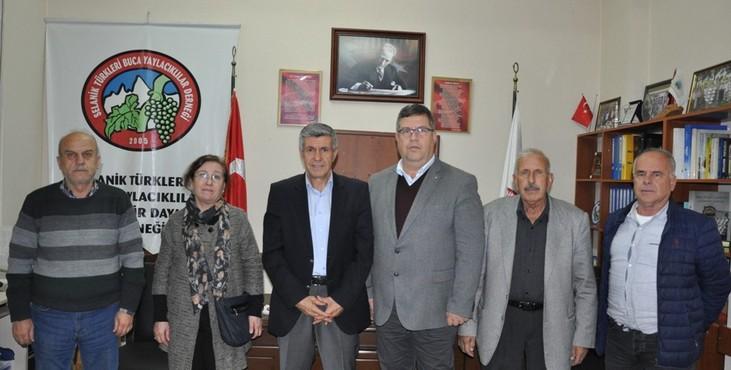 Metin Çağrı, STK ziyaretlerine SELTÜRK ile devam etti