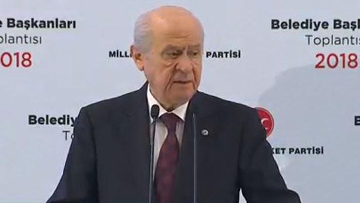 Bahçeli: İstanbul, İzmir ve Ankara'da aday çıkarmıyoruz