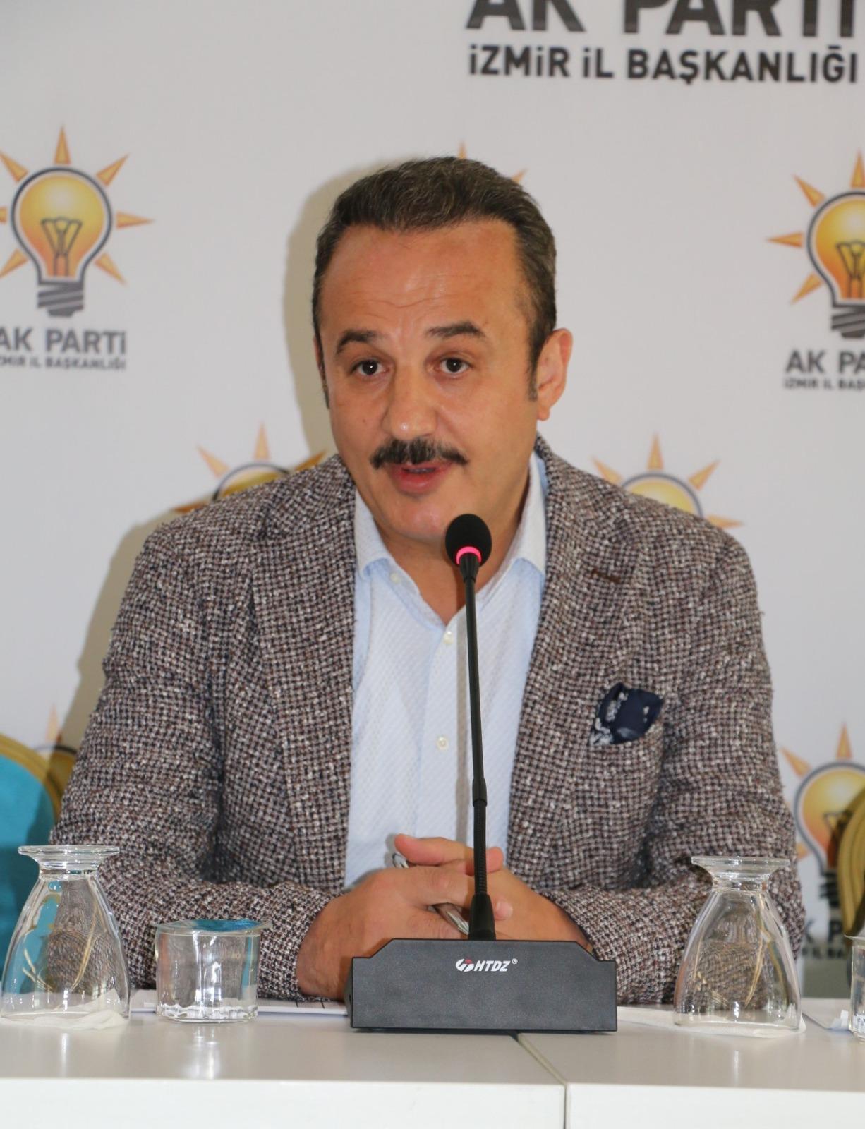 Şengül: İzmir'i almaya değil, İzmir'e hizmet vermeye geliyoruz