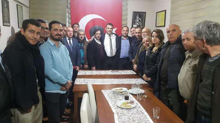 BUCA'NIN GENÇ A.ADAYI NEZİR 'STK' ZİYARETLERİNDE