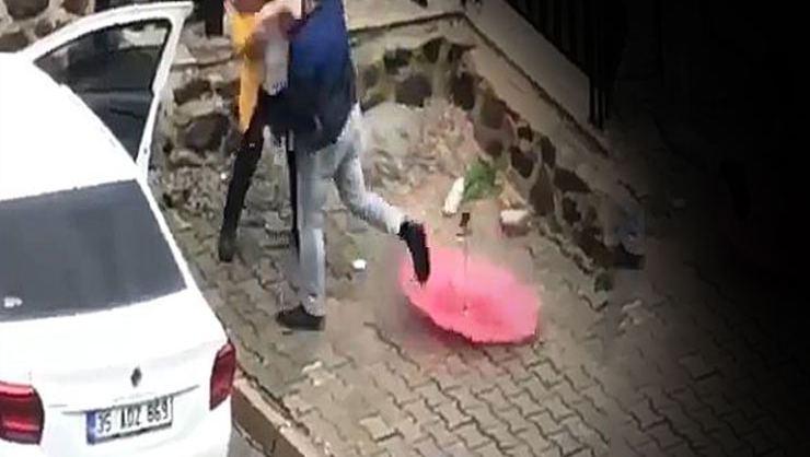 İzmir'de de Kanınız çekilecek! Sokak ortasında korkunç görüntüler