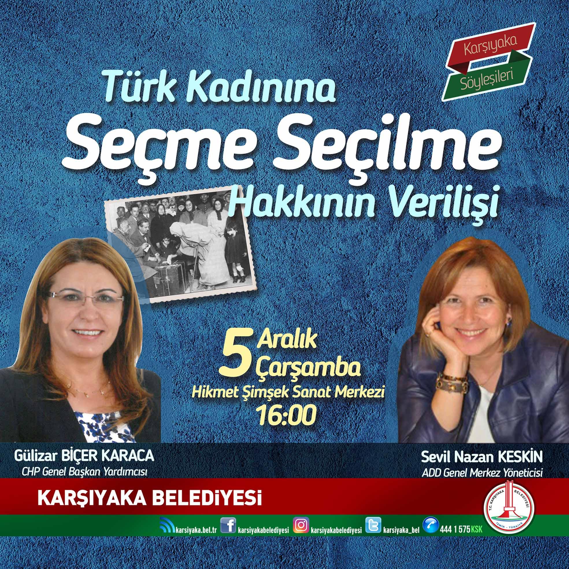Karşıyaka'da '5 Aralık' söyleşisi