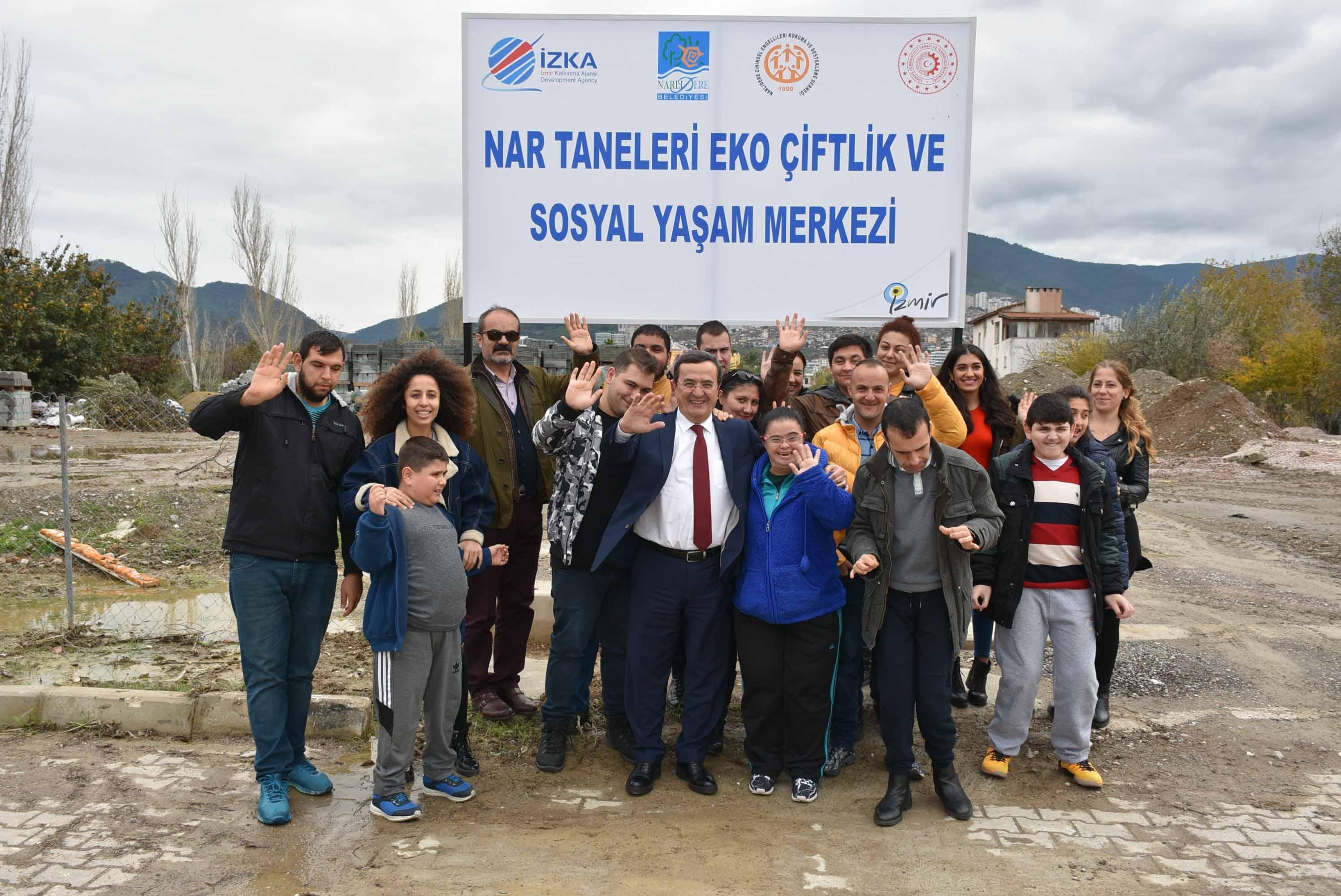 Nar Taneleri Özel Eğitim Merkezi ve Ekolojik Çiftlik Projesi yola çıktı