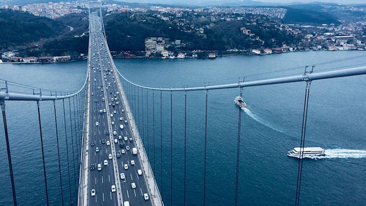 Fatih Sultan Mehmet Köprüsü'nden geçenlerin cezaları silindi