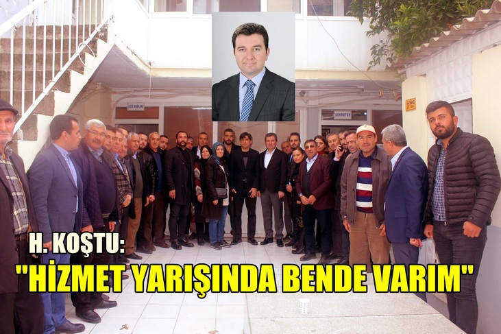 "HAKAN KOŞTU ""BENDE VARIM"" DEDİ"