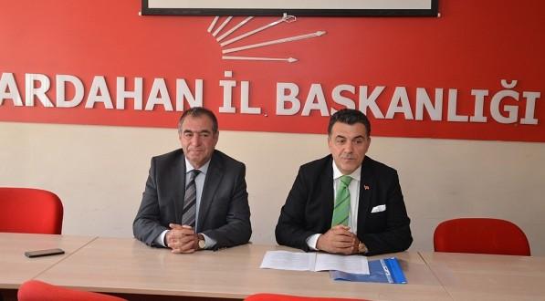 CHP Ardahan Belediye başkan adayı Faruk Demir oldu