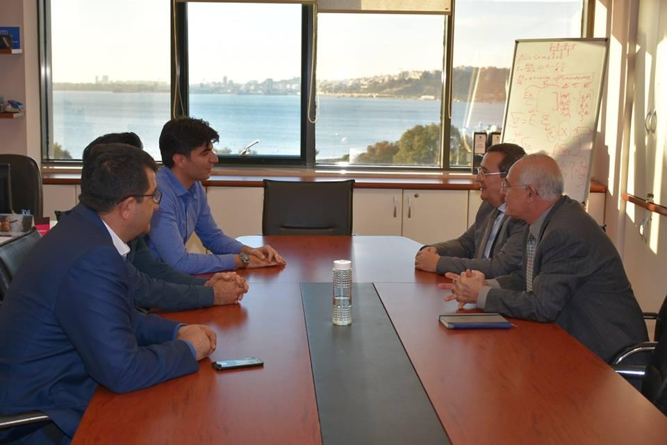Başkan Batur İzmir İnşaat Mühendisleri Odasını ziyaret etti