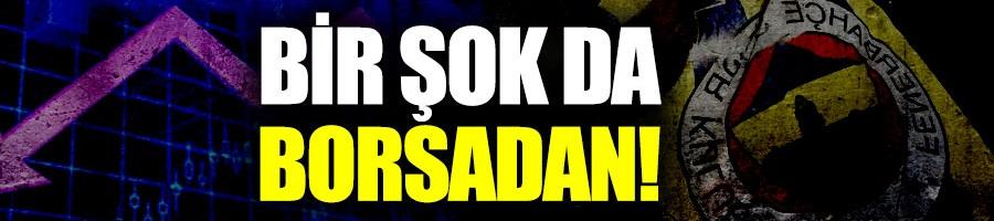 Fenerbahçe borsada da kaybettirdi