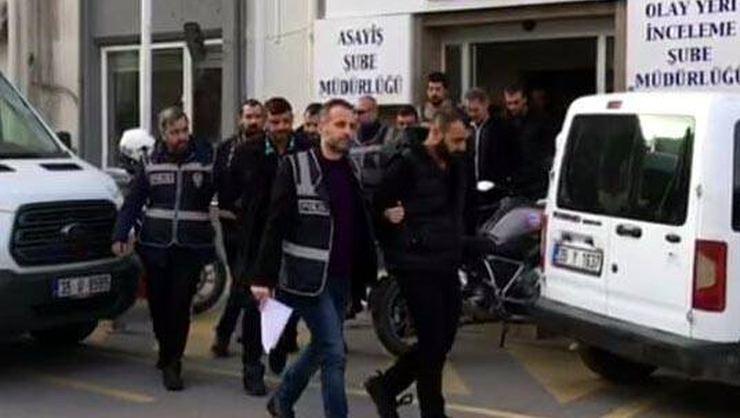 Genelev çalışanlarından haraç almakla suçlanan 7 kişi tutuklandı