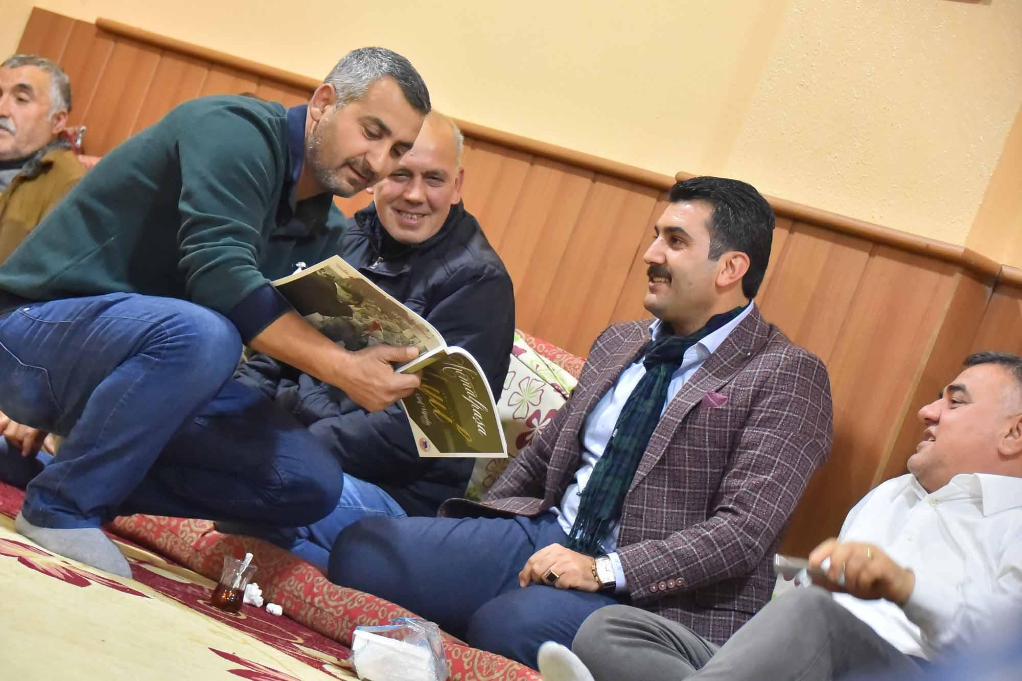 Başkan Uğurlu'dan Cemevi'ne ziyaret