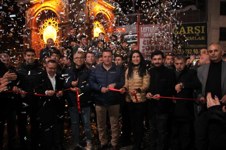 Menderes'te 2019 Açılışla Karşılandı
